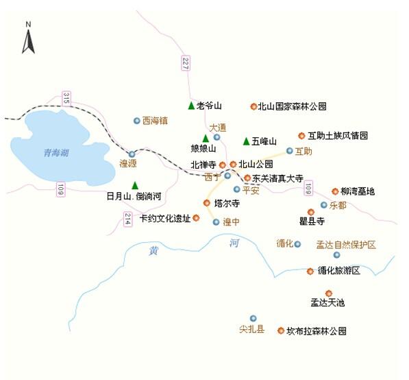 郑州旅游公司,河南旅游公司,中国青年旅行社,西 宁景点分布图
