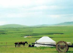 郑州旅游公司,河南旅游公司,中国青年旅行社,内 蒙古察汗淖尔草原