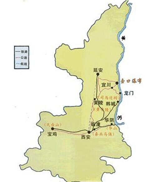 郑州旅游公司,河南旅游公司,郑州青年旅行社,壶 口瀑布导游图