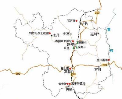 郑州旅游公司,河南旅游公司,郑州青年旅行社,壶 口瀑布旅游地图