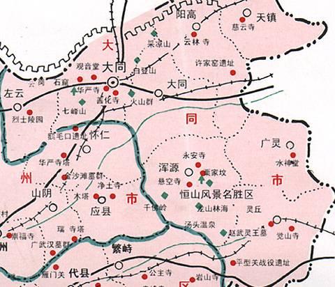 郑州旅游公司,河南旅游公司,郑州青年旅行社,大 同旅游地图