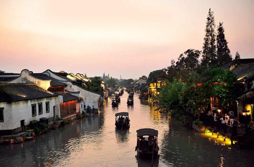 玩转江南:扬州+华东五市乌镇南浔双飞六日游