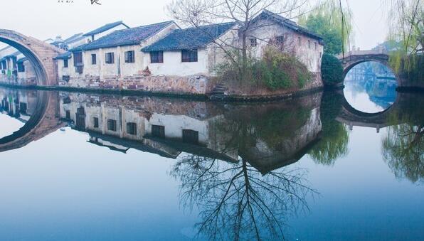 经典游:苏州杭州上海+乌镇西栅西溪湿地四星纯玩双卧五日游(全陪)