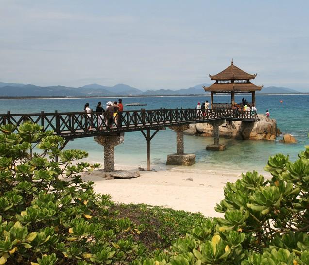 三亚旅游景点-蜈支洲岛