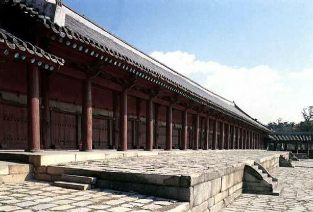 韩国首尔的宗庙