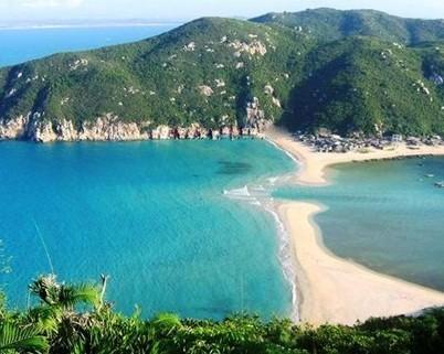 海南万宁旅游景点 大洲岛图片