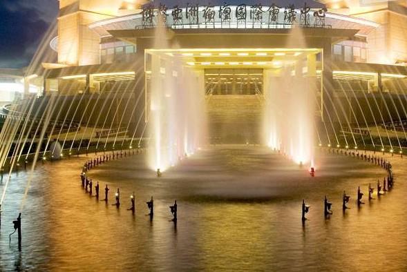 海南旅游景点-博鳌水城