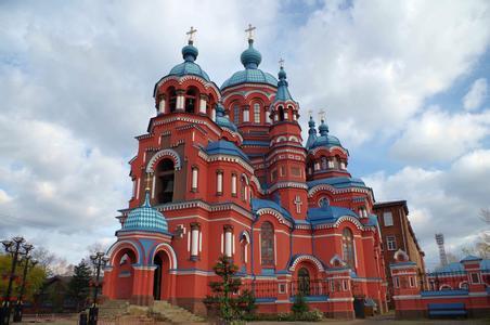 郑州旅行社,河南旅行社,河南青旅,俄 罗斯喀山圣母大教堂