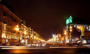 郑州中青旅,河南中青旅,河南旅行社,俄 罗斯圣彼得堡涅瓦大街