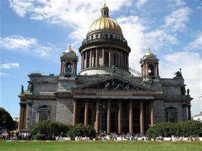 郑州旅行社,河南旅行社,河南中青旅,俄 罗斯圣彼得堡市伊萨基辅大教堂