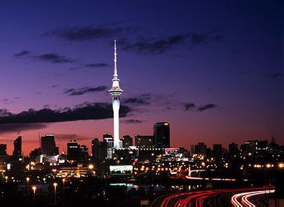 郑州中青旅,河南中青旅,郑州旅行社,新 西兰奥克兰天空塔