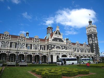 郑州中青旅,河南中青旅,郑州旅行社,新 西兰但尼丁火车站