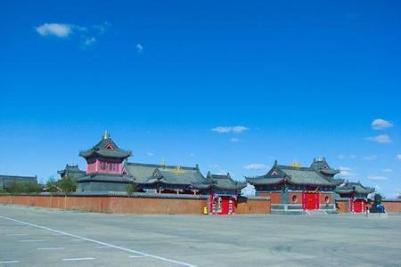 郑州旅游公司,河南旅游公司,郑州青年旅行社,呼 伦贝尔甘珠尔庙