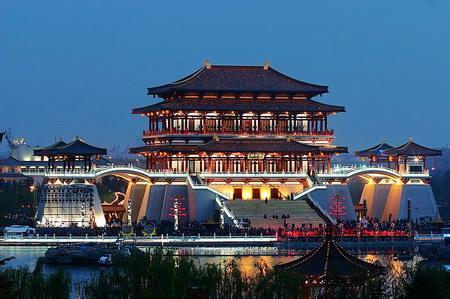 郑州旅游公司,河南旅游公司,郑州青年旅行社,西 安大唐芙蓉园