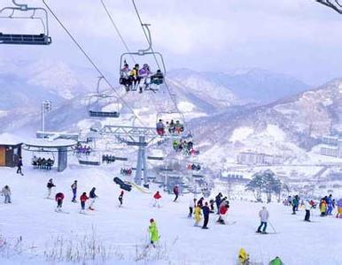 郑州旅游公司,河南旅游公司,郑州青年旅行社,韩 国龙平滑雪场