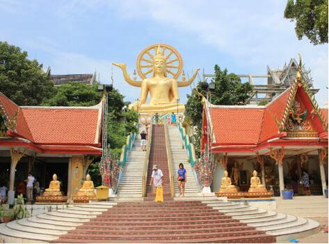 苏梅岛大佛寺