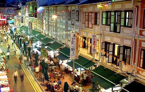 郑州旅游公司,河南旅游公司,郑州青年旅行社,新加 坡牛车水美食街