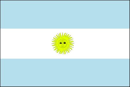 阿 根廷国旗