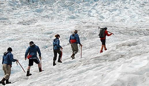 郑州中青旅,河南中青旅,郑州旅行社,新 西兰冰川徒步