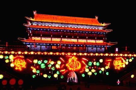 郑州旅游公司,河南旅游公司,郑州青年旅行社,西 安城墙灯会