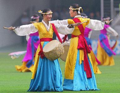郑州旅游公司,河南旅游公司,郑州青年旅行社,韩 国传统舞蹈