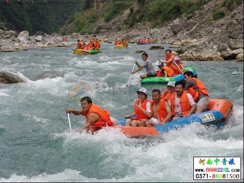豫西大峡谷风景区位于豫,秦,晋三省结合部的三门峡市卢氏县官道口