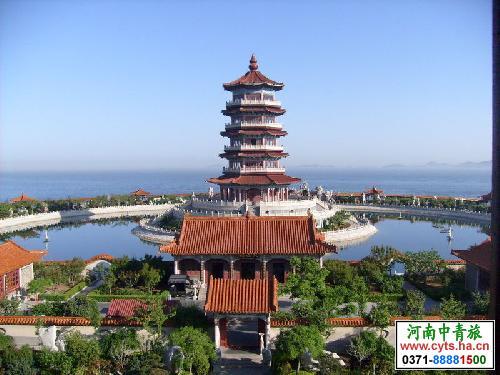 郑州到青岛崂山烟台蓬莱威海大连旅顺双卧八日游